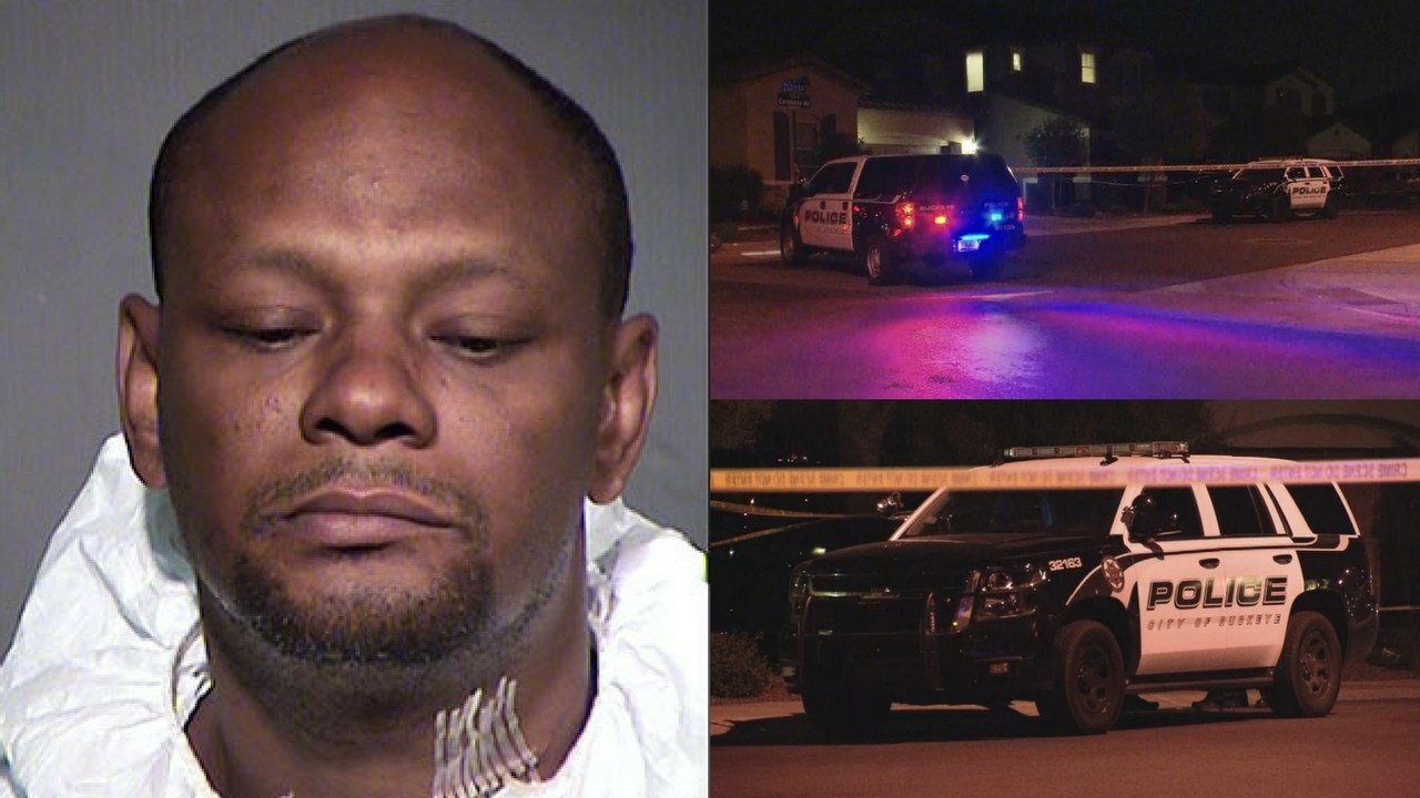 Authorities in Arizona say a Virginia man has been arrested on suspicion of second-degree murder in the stabbing death of his girlfriend. (Source: MCSO/3TV/CBS 5)
