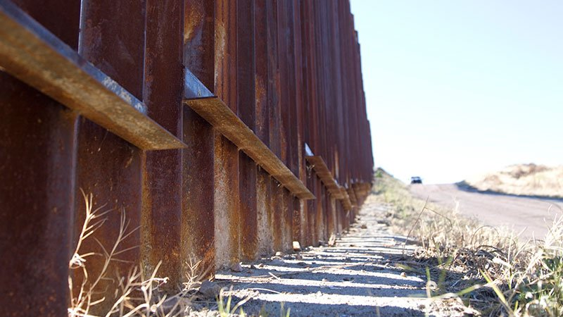 President Donald Trump's promise for a wall running the length of the border is more like to include a mix of elements, likes fences, technology, walls, increased patrols and natural barriers, officials now say. (Source: Josh Orcutt/Cronkite News)