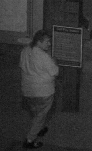A heavy built white female with thinning short-lengthed hair is one suspect in the Lake Pleasant robbery trio. (Source: Maricopa County Sheriff's Office)