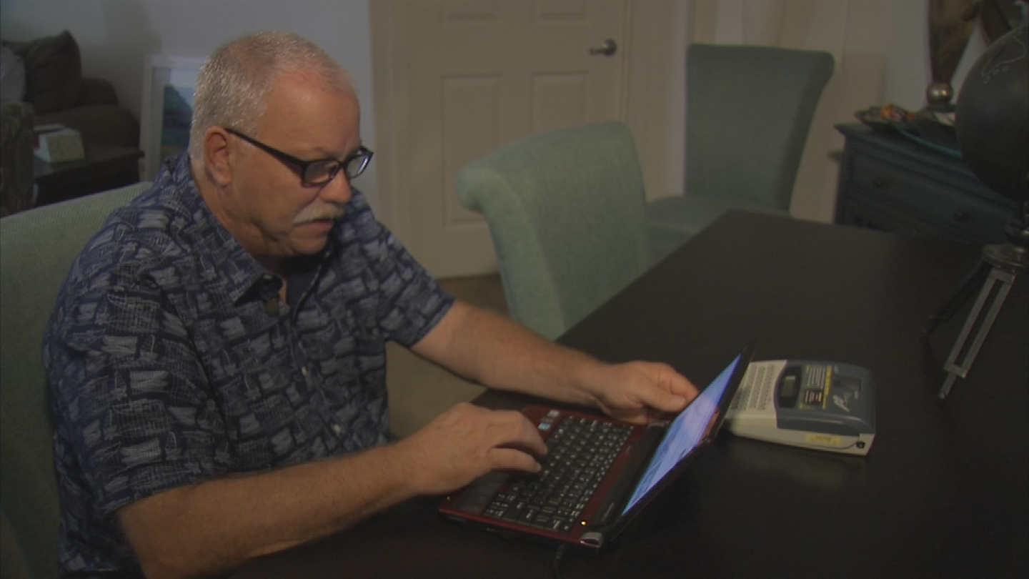 Dean Markowitz of Scottsdale learned about changes to his internet account through an e-mail and is skeptical about the changes. (Source: 3TV/CBS 5)
