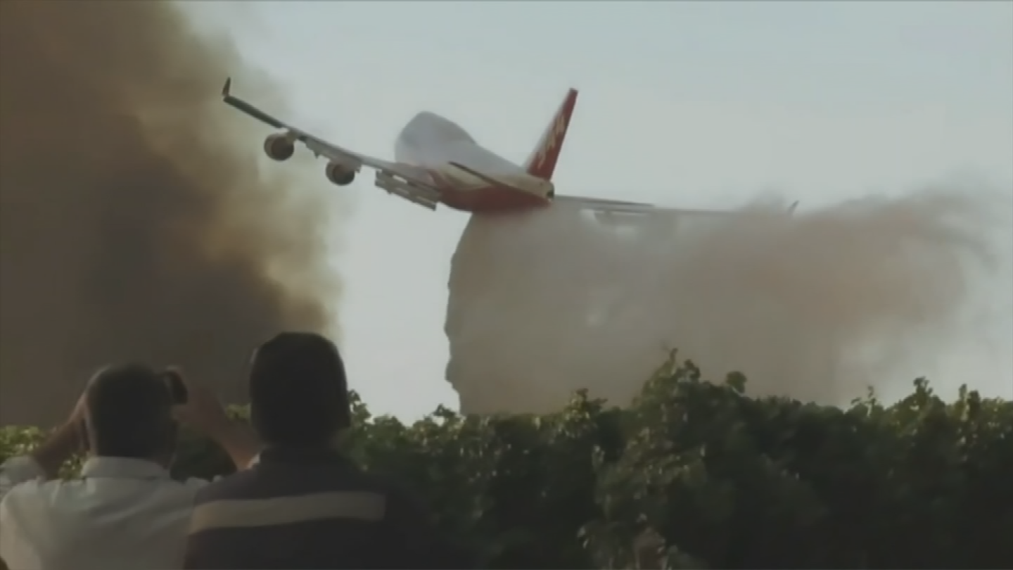 James Wheeler says the air tanker has been used in Israel and Argentina. (Source: 3TV/CBS 5)