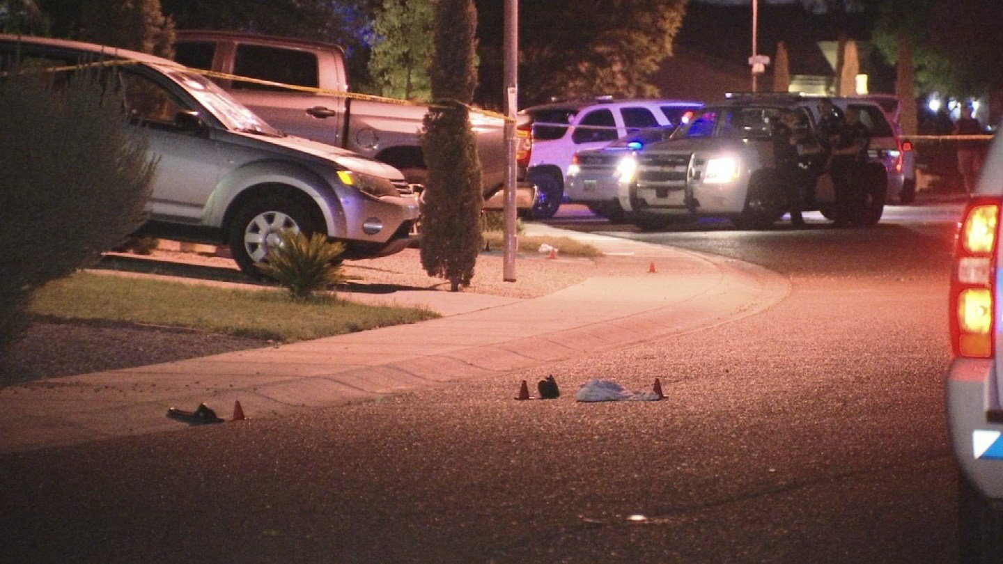 One man is dead and another is injured after an overnight shooting in a Tolleson neighborhood. (Source: 3TV/CBS 5)
