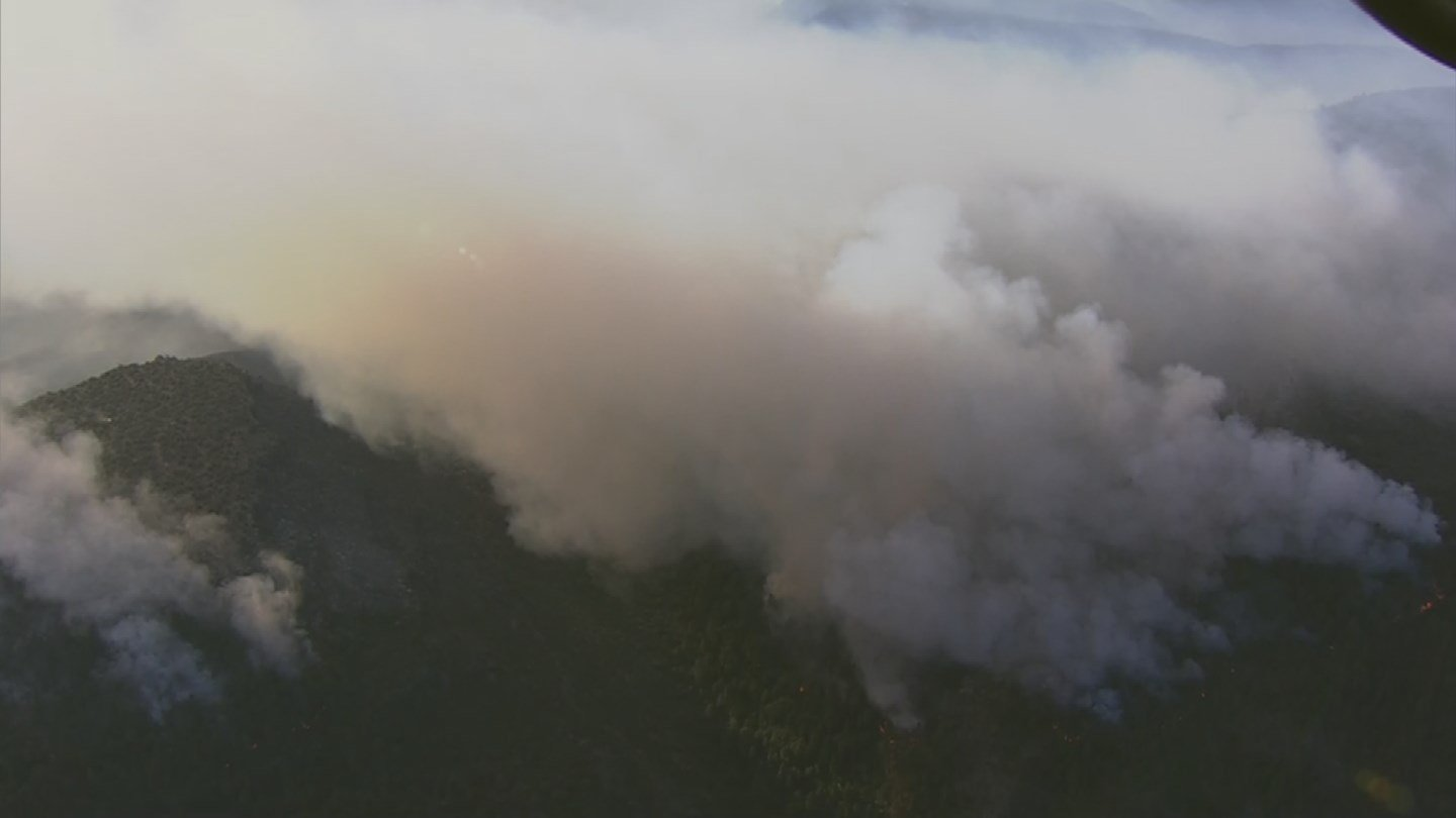 The Goodwin Fire has burned over 25,000 acres of land. (Source: 3TV/CBS 5)