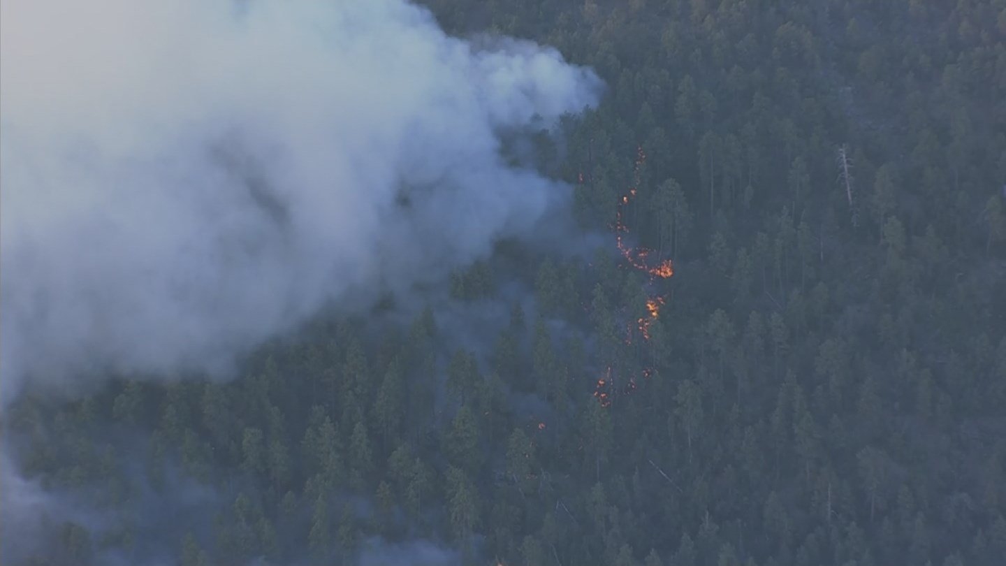 Containment on the Goodwin Fire has dropped to 1 percent. (Source: 3TV/CBS 5)