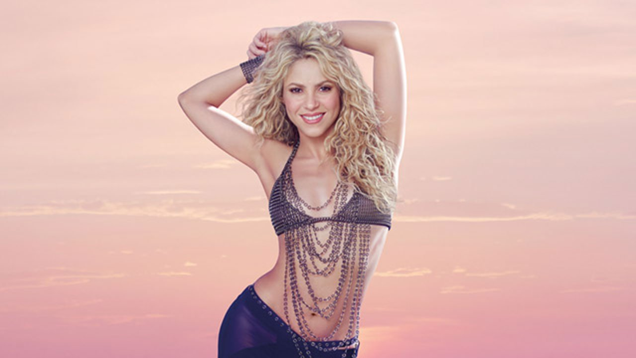 Shakira. (Source: shakira-beauty.com).