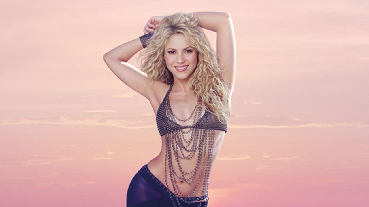 Shakira. (Source: shakira-beauty.com).