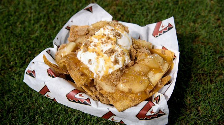 Apple Pie Nachos pictured available on the June 1st game. (Source: Arizona Diamondbacks)