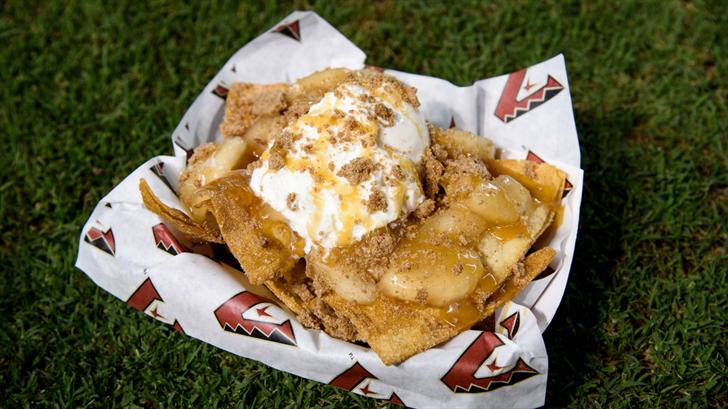 Apple Pie Nachos pictured available on the June 1st game. (Source: Arizona Diamondbacks)
