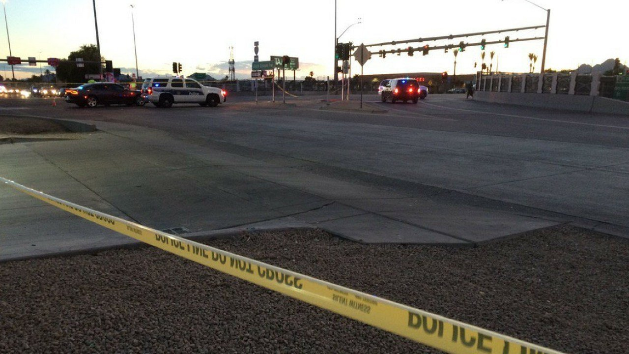 According to Phoenix police, officers were shot at by an unknown suspect. (Source: 3TV/ CBS 5)