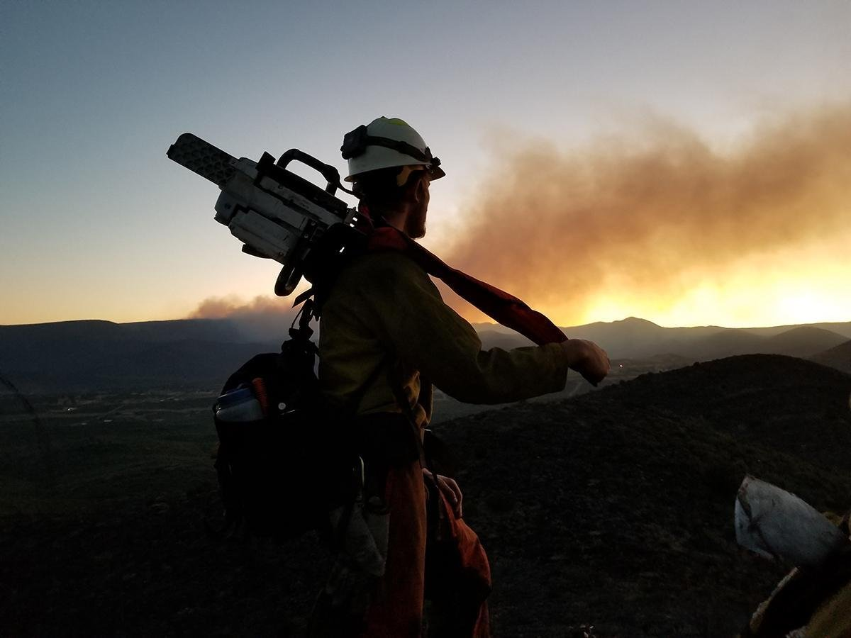 The cause of the wildfire remains under investigation. (Source: U.S. Forest Service)