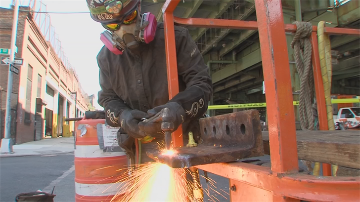 The International Training Institute says the number of women in its sheet metal apprenticeship program has doubled in two years. (Source: 3TV/CBS 5)