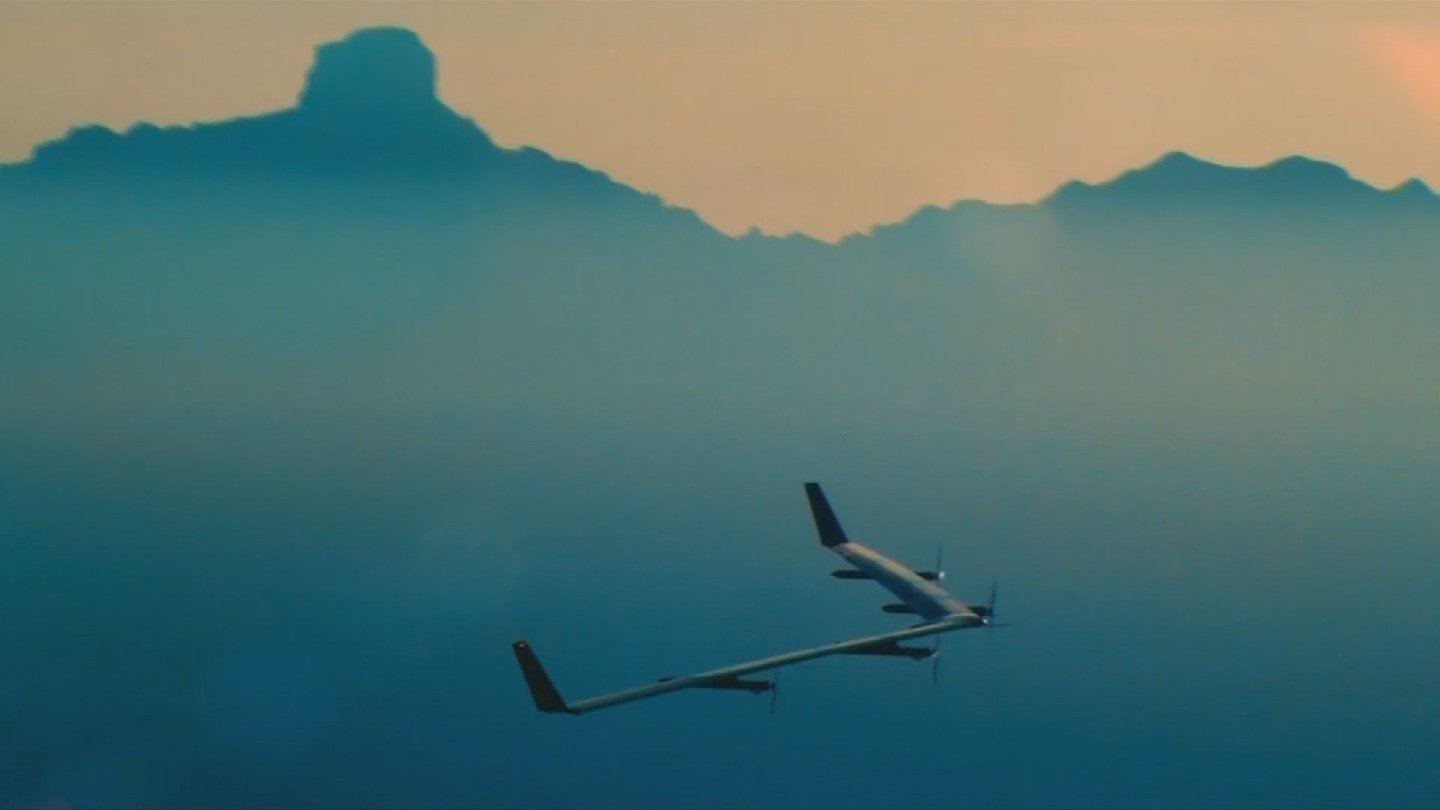 A solar-powered drone backed by Facebook that could one day provide worldwide internet access has quietly completed a test flight in Arizona after an earlier attempt ended with a crash landing. (Source: 3TV/CBS 5)