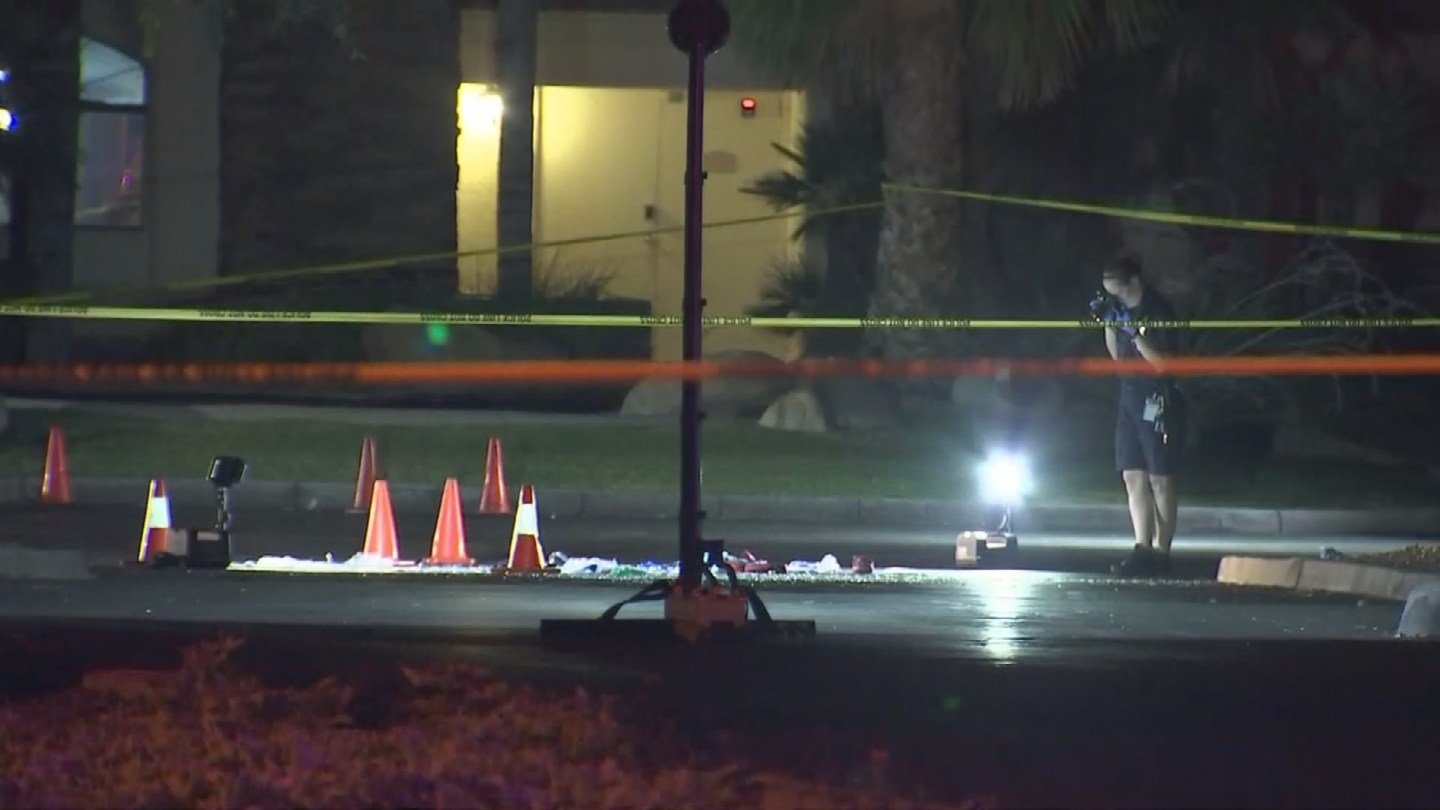 A man was transported to a local trauma center with a gunshot wound after an overnight Chandler shooting. (Source: 3TV/CBS 5)
