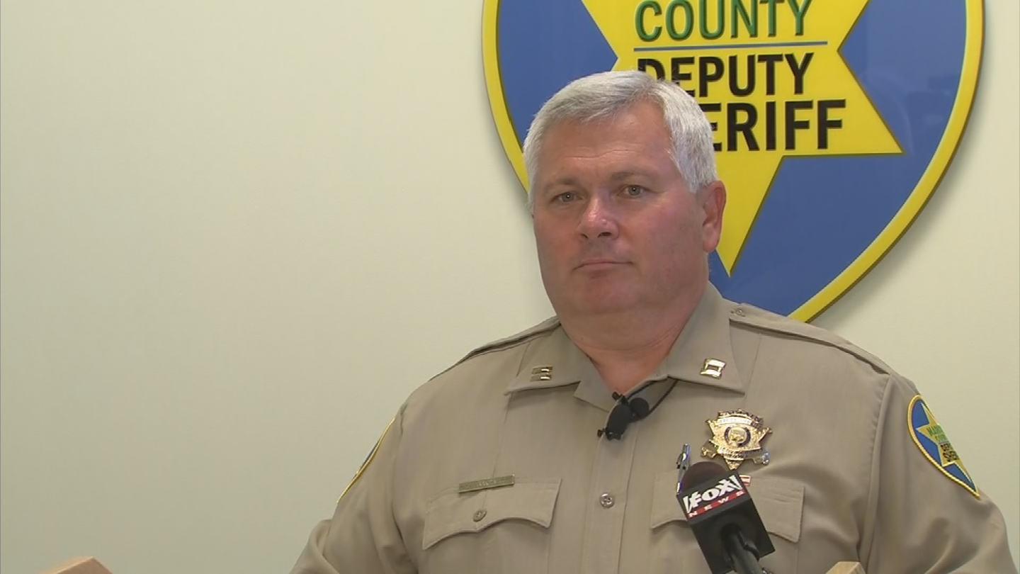 MCSO's Capt. Henry Brandimarte speaks about the dangers of heat. (Source: 3TV/CBS 5)