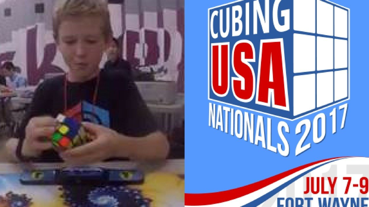 Sean Kennedy is heading to the Cubing USA National's Rubik's Cube Competition. (Source: Sean Kennedy/Cubing USA)