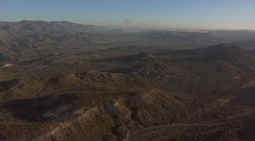 Aerial shot of the Goodwin Fire (SourcE: 3TV/CBS 5)