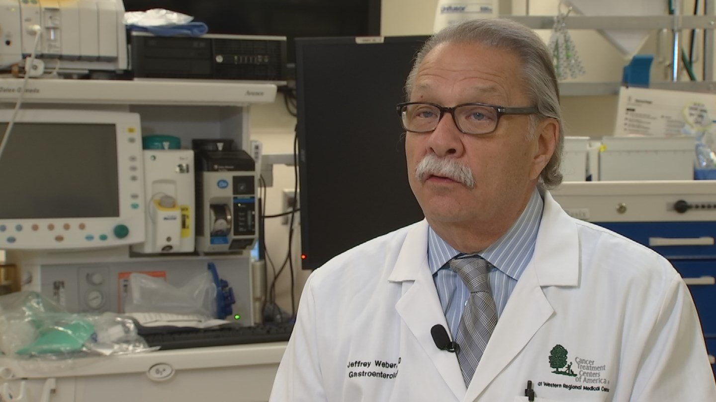Dr. Jeffrey Weber of Cancer Treatment Centers of America (Source: 3TV/CBS 5)