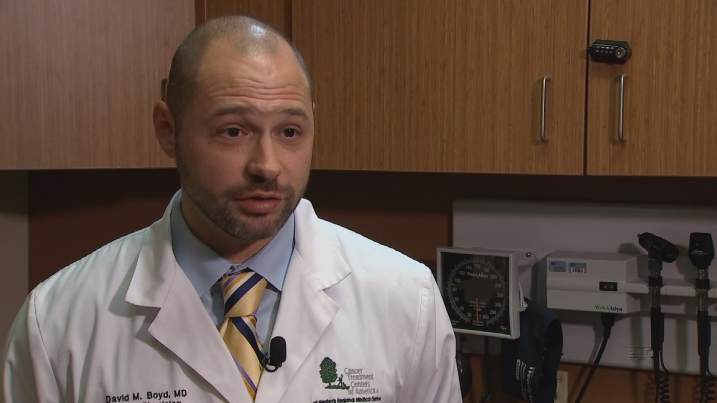 Dr. David Boyd of Cancer Treatment Centers of America (Source: 3TV/CBS 5)