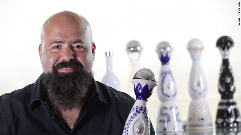 Clase Azul founder Arturo Lomeli admits his first tequila was 'terrible.' (Source: Clase Azul via CNN)