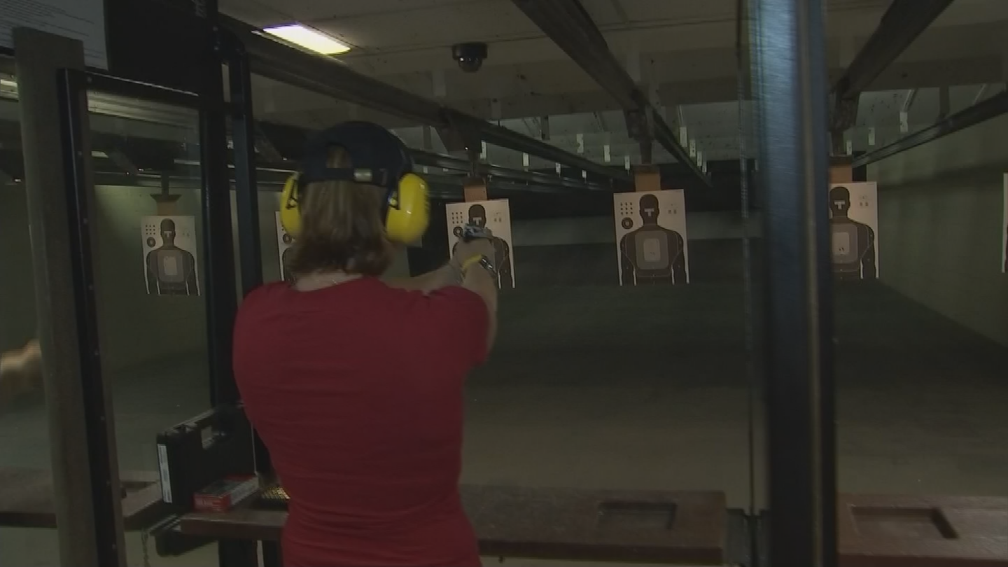 At Arizona Arms, LLC in Chandler, Mike Reber said women make about 25 percent of his sales. (Source: 3TV/CBS 5)