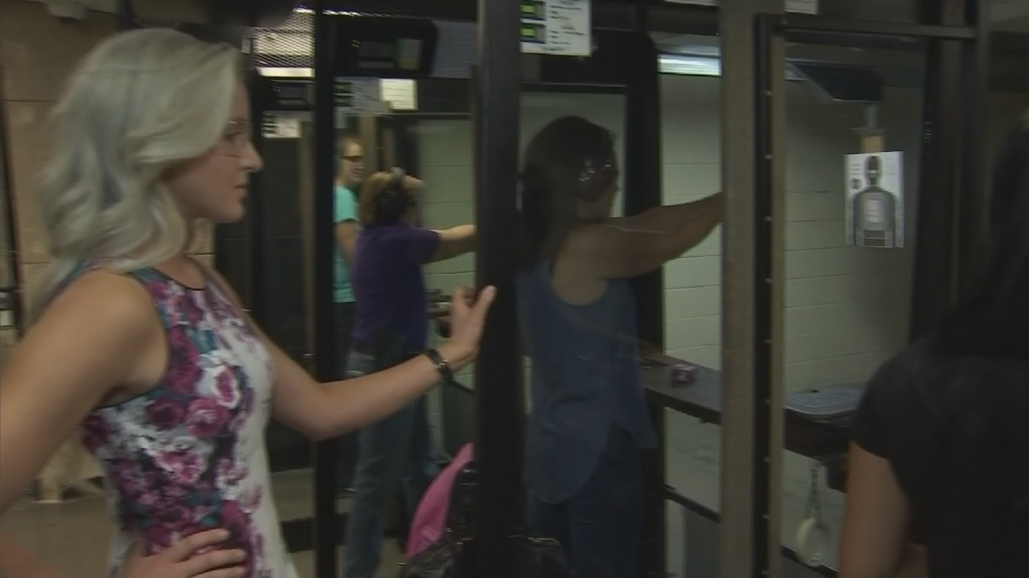 Women often want a weapon for self-defense. (Source: 3TV/CBS 5)