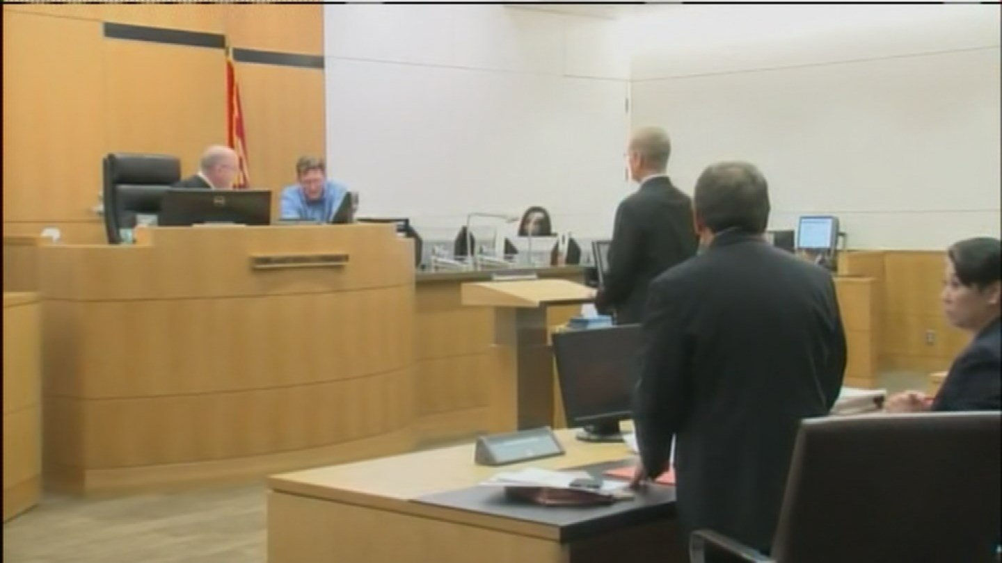Saucedo was not in court Thursday. (Source: 3TV/CBS 5)