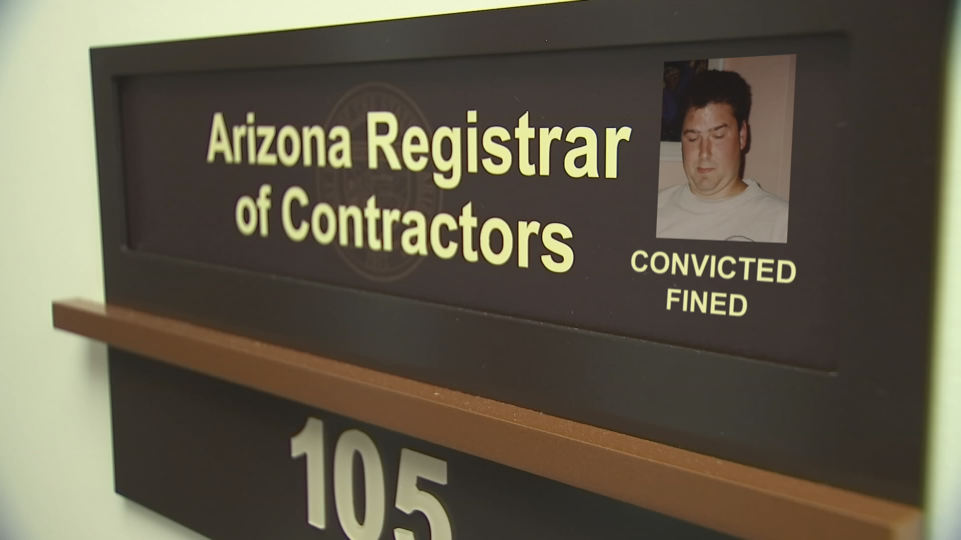 According to the Arizona Registrar of Contractors, Eric Charest has been convicted and fined before for contracting without a license. (Source: 3TV/CBS 5)