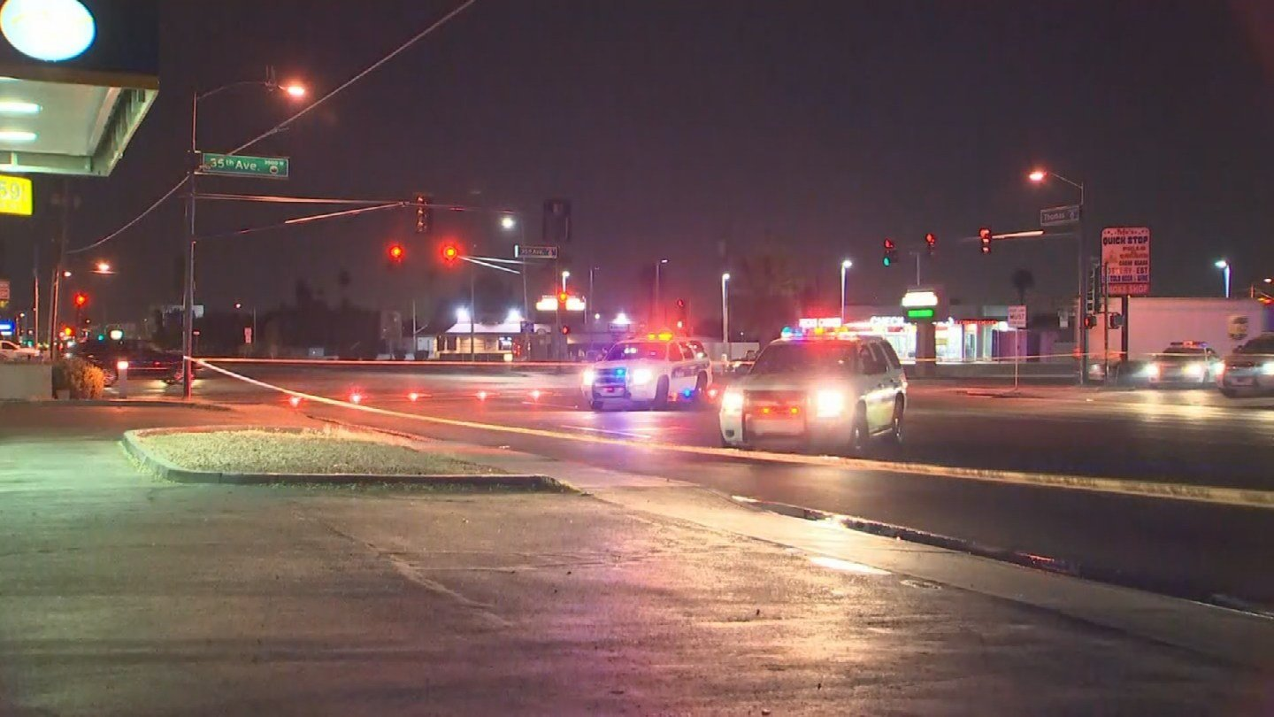 The man was transported to a local hospital but succumbed to his injuries. (Source: 3TV/CBS 5)