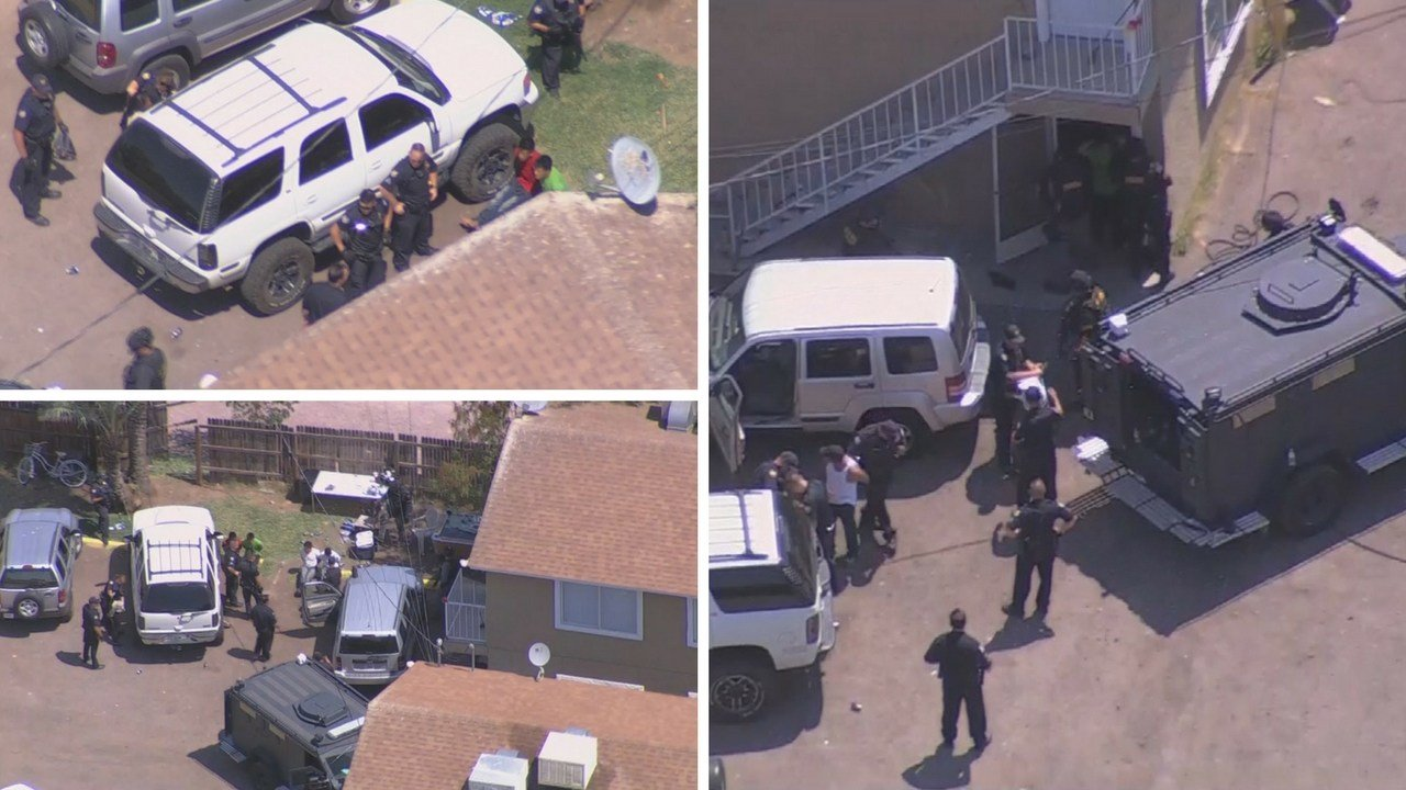 According to Phoenix police, they are serving a search warrant in the area for what is being reported as an illegal drug activity. (Source: 3TV/CBS 5)