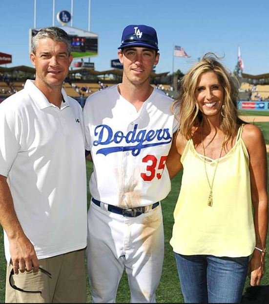 Bellinger family. 97 July 2017) [Source: John Soohoo/LA Dodgers LLC 2017]