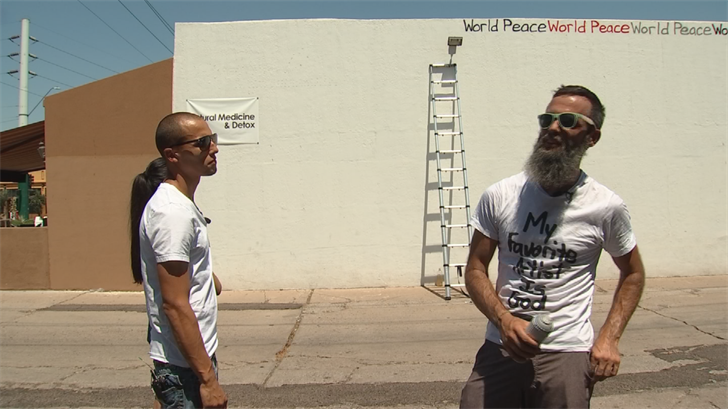 Writer's Mural tour is funded by the public. (Source: 3TV/CBS 5)