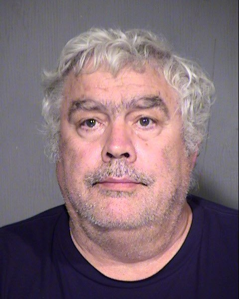John Nichols, 61 arrested Friday for allegedly causing the closure of Sky Harbor Airport. (Source: Maricopa County Sheriff's Office)