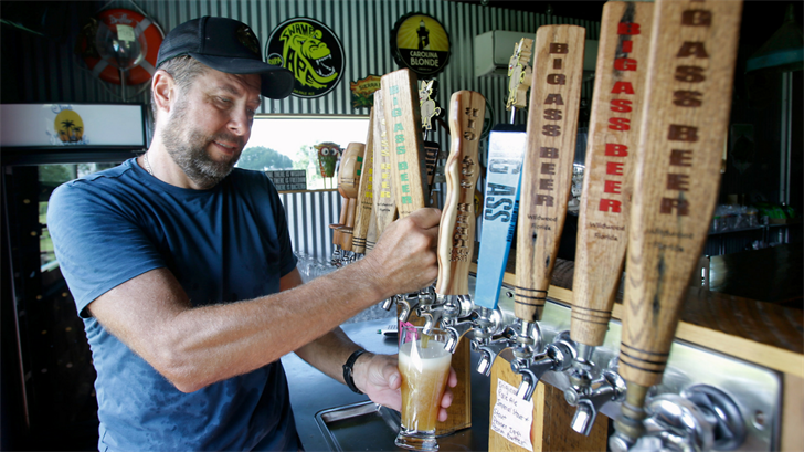 Local Brewery (Source: AP Images)