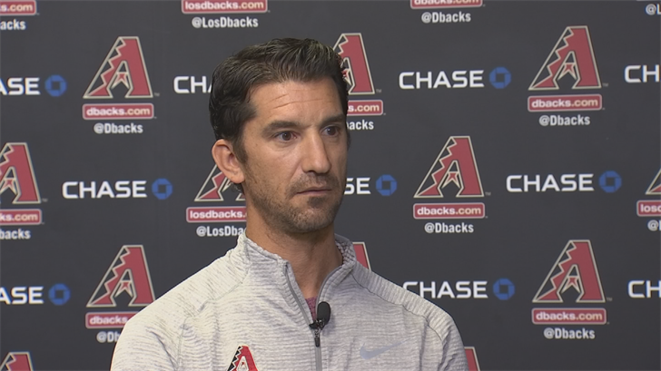 D-backs general manager Mike Hazen said the squad hasn't exceeded expectations. (Source: 3TV/CBS 5)