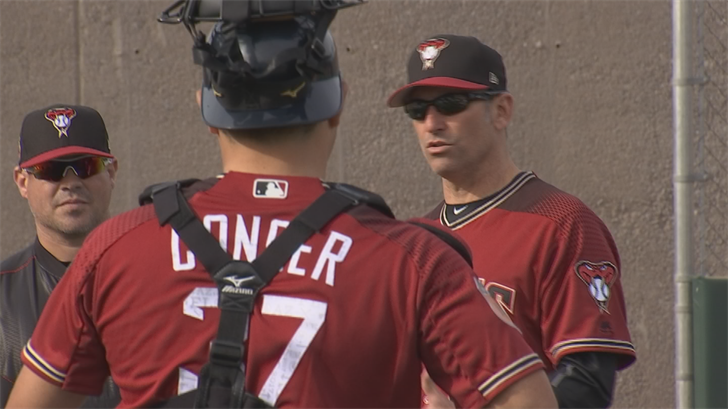 The Diamondbacks have the second-best record in the National League at the break. (Source: 3TV/CBS 5)