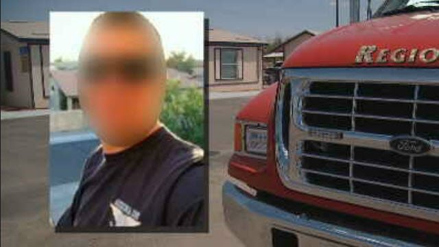 Somebody is pretending to be a firefighter is suspected of stealing from fire stations in southwestern Arizona. (Source: 3TV/CBS 5)