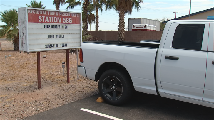 A Facebook post by Kerber claims the bogus firefighter is suspected of stealing property from fire stations in southwestern Arizona. (Source: 3TV/CBS 5)
