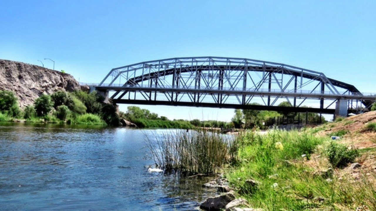 The City of Yuma Fire Department is warning visitors to not dive off bridges in the area after three people were injured in the last month. (Source: Yuma Fire Department)