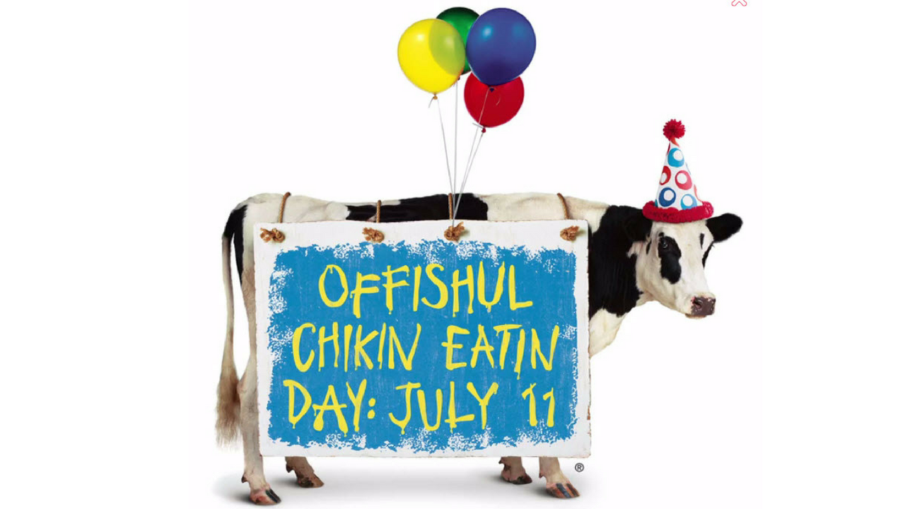 Dress up like a cow free free chicken (Source: Chick-fil-A)