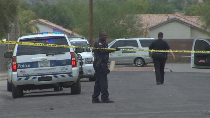 A man was found shot in south Phoenix. (Source: 3TV/CBS 5)