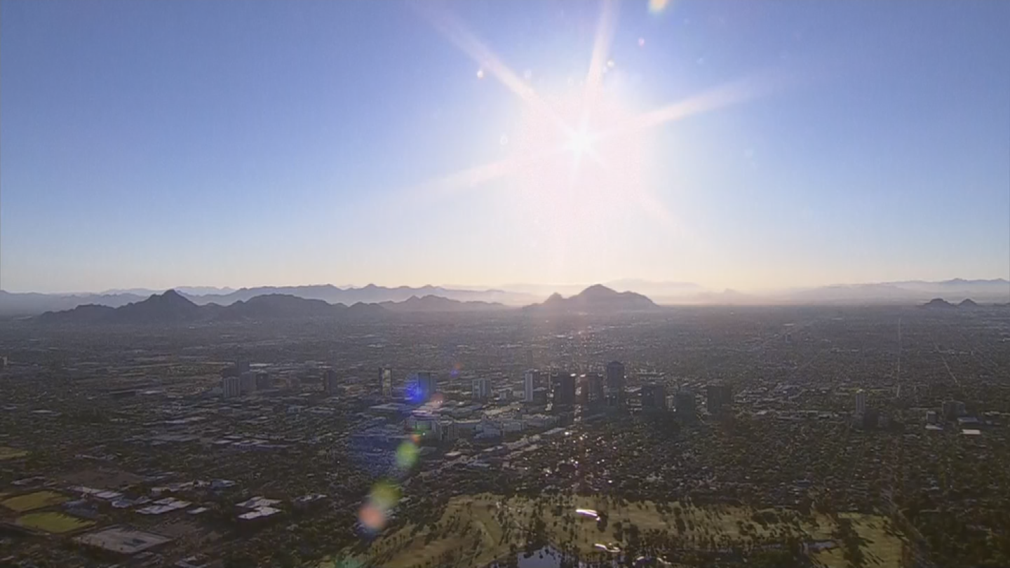 Phoenix could see another near-record year in terms of temperature. (Source: 3TV/CBS 5)