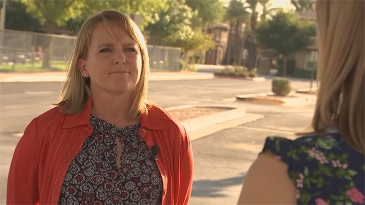Stacie Banks is running as an Independent for Superintendent of Public Instruction in Arizona. (Source: 3TV/CBS 5)