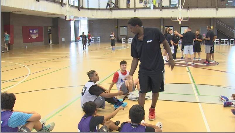 For three days, the freshman-to-be received instruction from some big basketball names. (Source: 3TV/CBS 5)