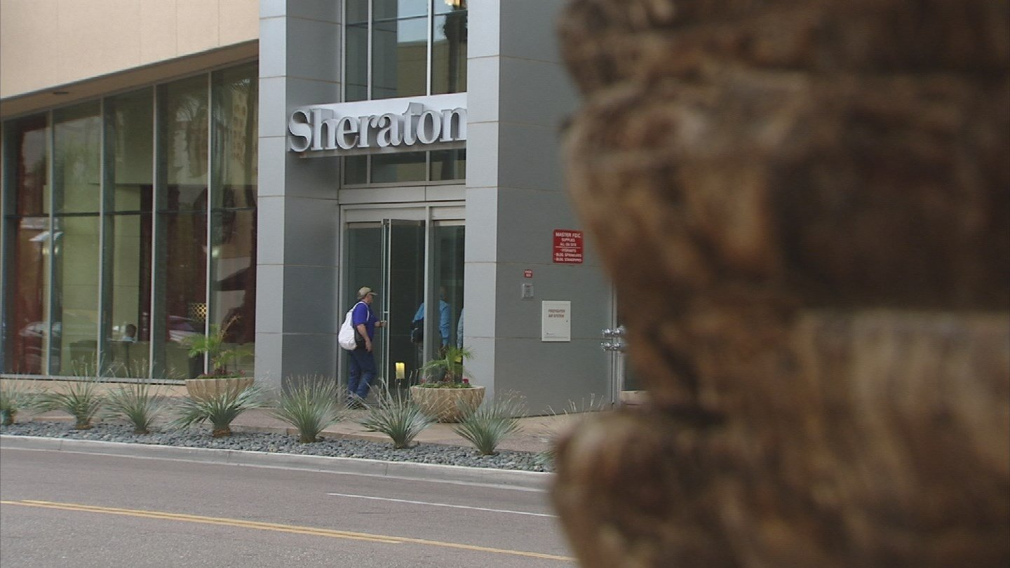 The City of Phoenix is in negotiations once again to sell the taxpayer-owned Sheraton Grand Phoenix Hotel. (Source: 3TV/CBS 5)