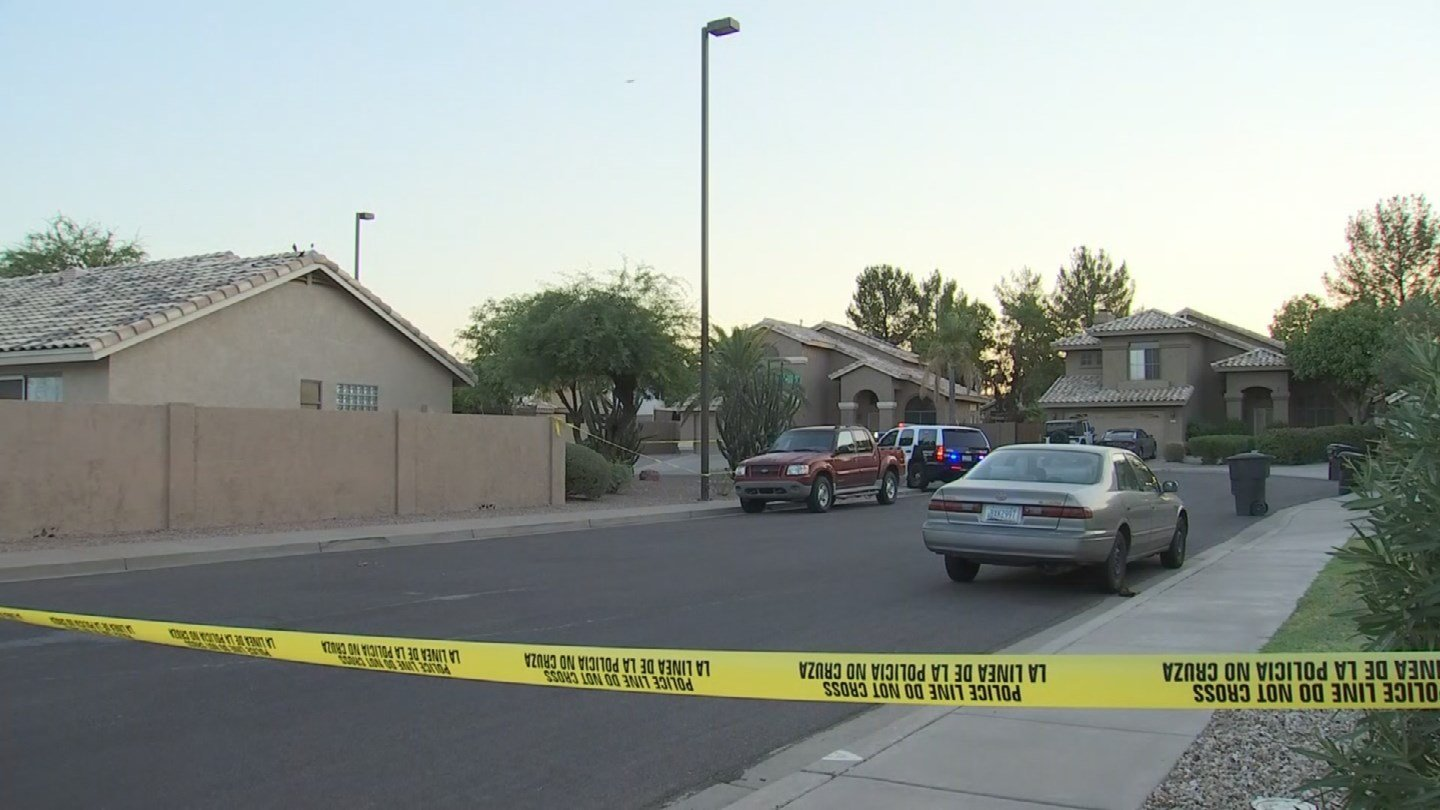 One woman dead after what Mesa police are calling a domestic violence shooting. (Source: 3TV/CBS 5)