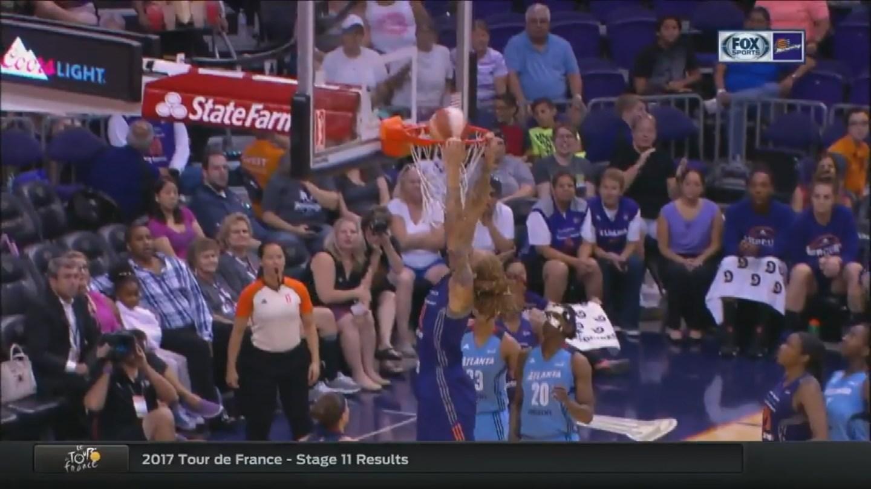 Griner Dunks (Source: WNBA/ Phoenix Mercury)