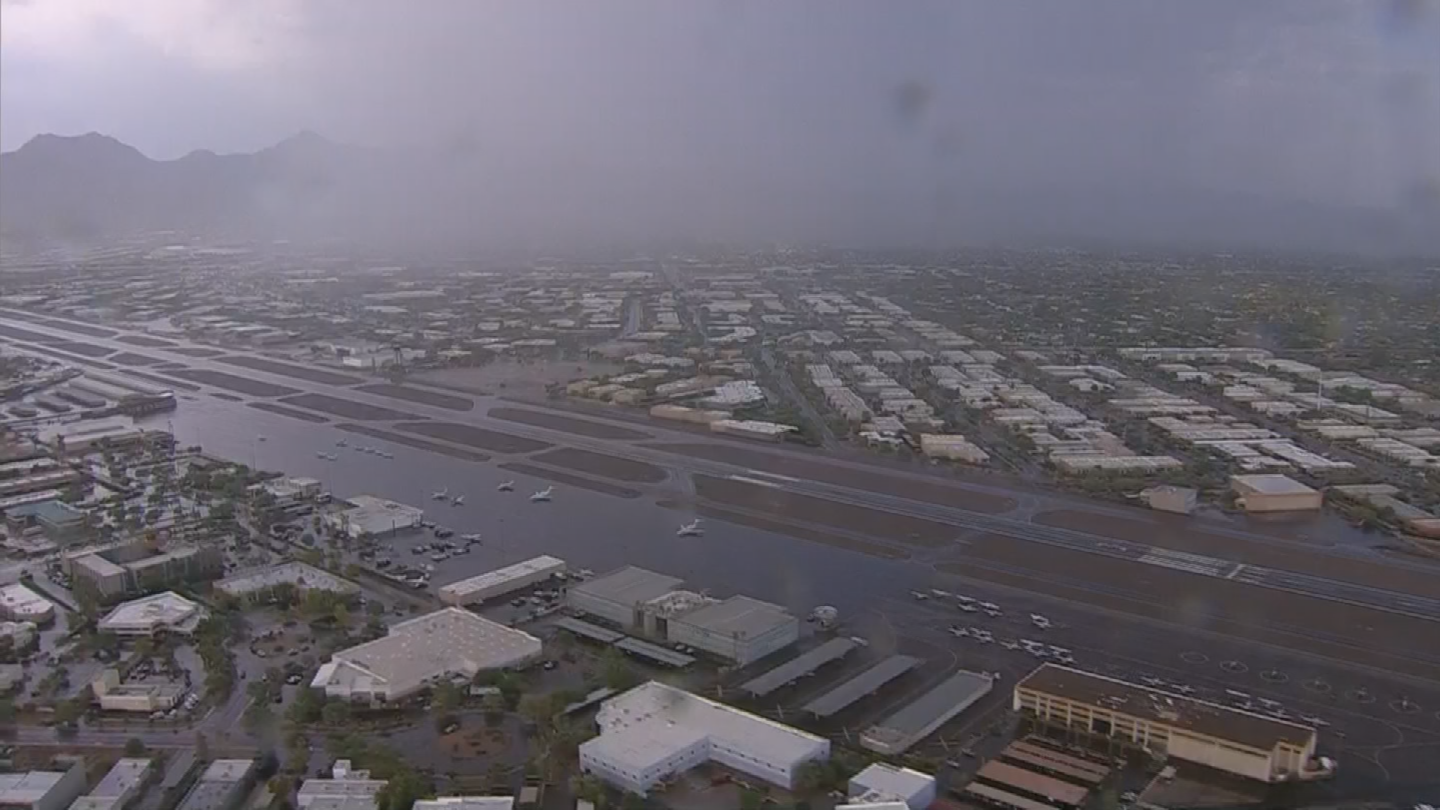 The sweet smell of rain has little to do with Mother Nature. (Source: 3TV/CBS 5)