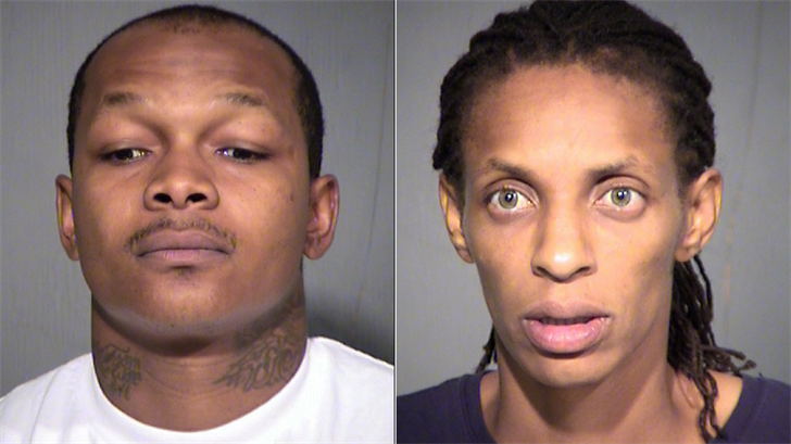 Demarrwo Oakley, left, and Stephanie Dorsey, right. (Source: Maricopa County Sheriff's Office)