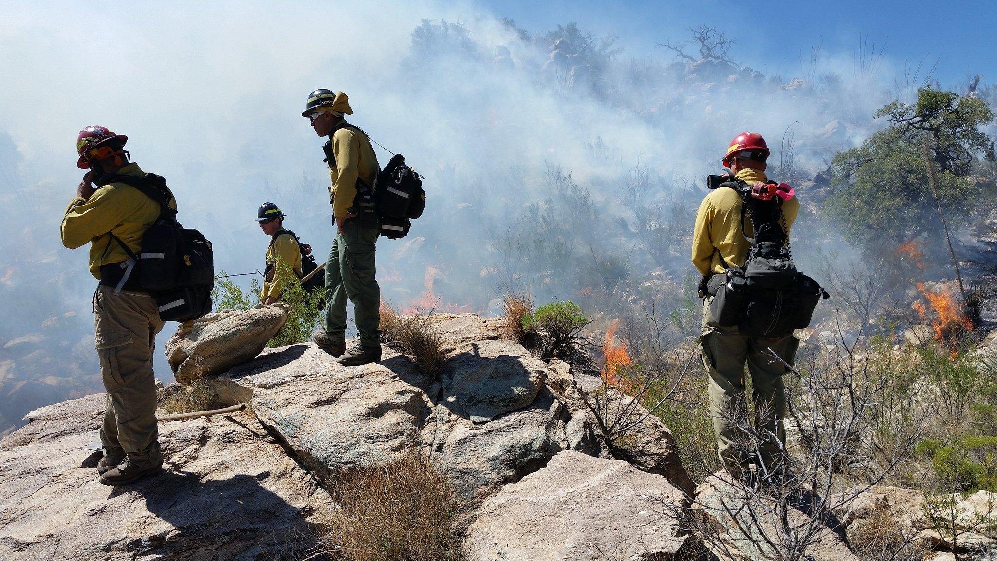 Inmates released from prison will be able to apply for a job with an all new hot shot crew. (Source: Arizona Department of Forestry and Fire Management)