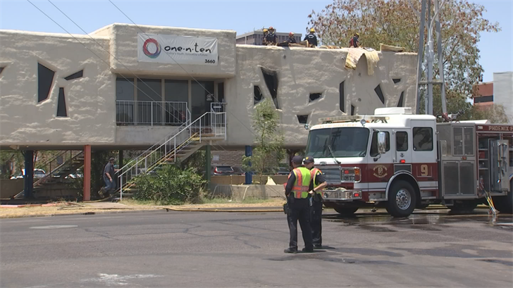 The youth center for one.n.ten went up in flames Wednesday, destroying everything inside. Now, they are asking the community for help. (Source: 3TV/CBS 5)